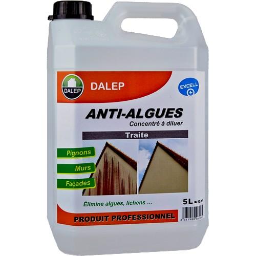 DALEP ANTI-ALGUES apporte une réponse précise à une contamination de plus en plus répandue et très visible sur les pignons et façades des maisons : les algues rouges, grises…