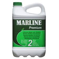 MARLINE Carburant-Alkylat pour moteur 2 Temps premium (2 L) élaboré à partir d'un produit pétrolier très pur et d'un lubrifiant haut de gamme éco-labelisé.