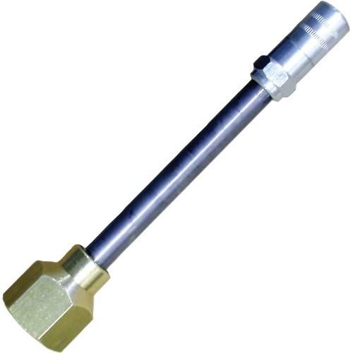 DALEP Embout d'injection femelle. Adaptable sur pistolet Usage Intensif. Pour injecteur de murs.