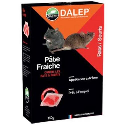 DALEP Pâte fraiche raticide-souricide appât frais spécialement conçu pour lutter contre les rats et les souris.