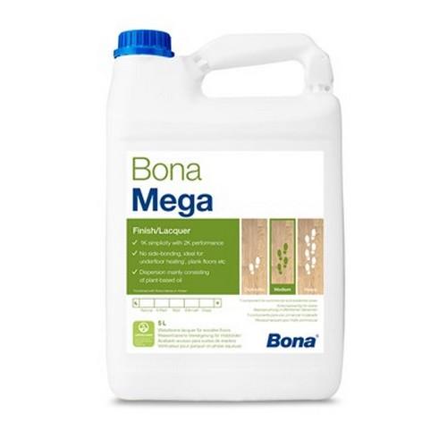 Vitrificateur parquet Bona mega mat 5 L est un vitrificateur polyuréthane, recommandé pour les trafics normaux et forts trafics. Mono-composant