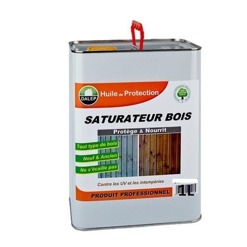 DALEP Saturateur bois (1L) Protège et nourrit tous types de bois agressés par les intempériesou les champignons.