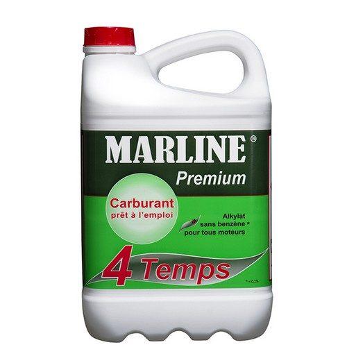Carburant-Alkylat premium pour moteur 4 Temps (5L) élaboré à partir d'un produit pétrolier très pur générant peu de dépôt.