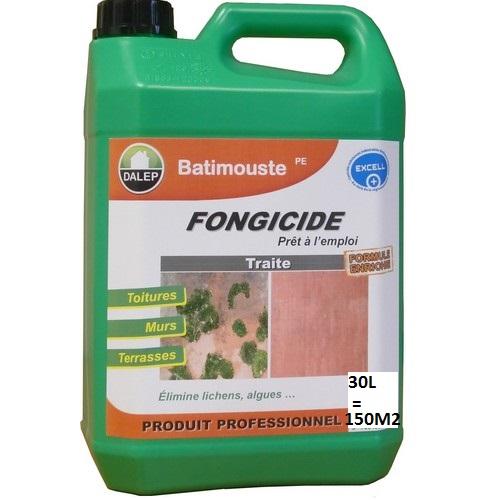 DALEP BATIMOUSSE PE est un fongicide prêt à l'emploi qui traite tous les supportscontre les algues, lichens, champignons… Facile d'utilisation, il respecte les matériaux traités sans en modifier l'aspect.