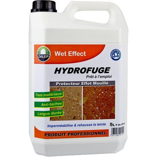 Dalep WET EFFECT Protecteur Effet Mouillé (20L). Propriétés WET EFFECT est un protecteur hydrofuge : imperméabilise & rehausse la teinte. Crée un aspect mouillé. Produit prêt à l'emploi.