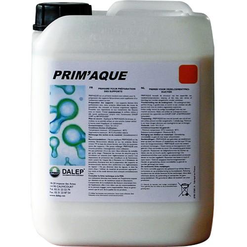 DALEP PRIM'AQUE (5L) primaire pour la préparation des supports fibres ciment Restructure l'état de surface
